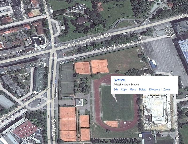 Atletska staza Svetice